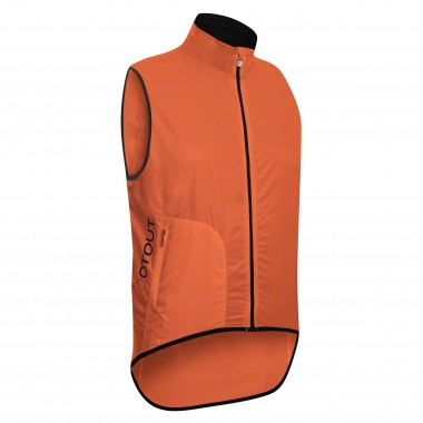 GILET ANTIVENTO UOMO DOTOUT TEMPO ORANGE