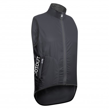 GILET ANTIVENTO UOMO DOTOUT TEMPO DARK GREY