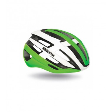 CASCO DOTOUT TARGA SHINY GREEN-SHINY WHITE