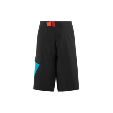 PANTALONE CORTO CUBE JUNIOR BLACK'N'BLUE'N'WHITE