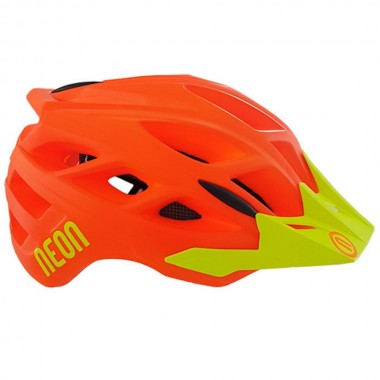 CASCO MTB NEON HIDE-orange yellow