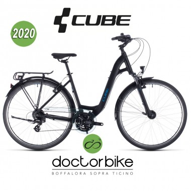 Cube Touring black´n´blue 2020 - Easy entry -