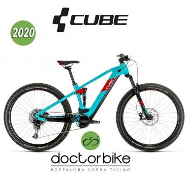 Cube Stereo Hybrid 120 Pro 625 29 petrol´n´red 2020
