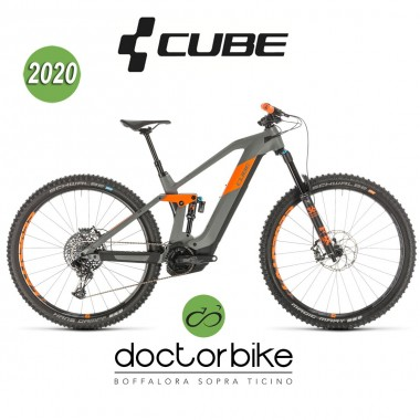 Cube Stereo Hybrid 140 HPC TM 625 29 grey´n´orange 2020