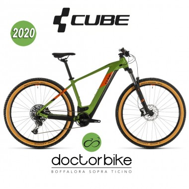 Cube Reaction Hybrid EX 625 29 green´n´orange 2020