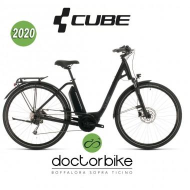 Cube Town Sport Hybrid ONE 500 black´n´grey 2020