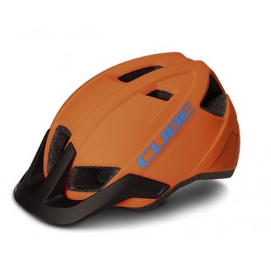 CASCO MTB CUBE CMPT ORANGE-BLUE