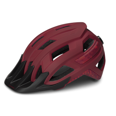 CASCO MTB CUBE ROOK RED