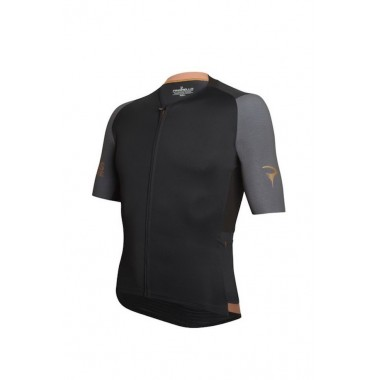 MAGLIA PINARELLO VERTICAL BLACK-BROWN