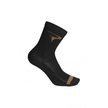 CALZA PINARELLO UOMO LOGO BLACK-BROWN