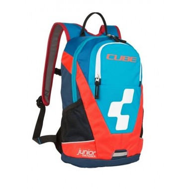 ZAINO CUBE JUNIOR 10L BLUE/FLASHRED