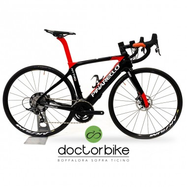 PINARELLO NYTRO FIRST EDITION CARBON RED 936 ULTEGRA 11V DISK  TG 55