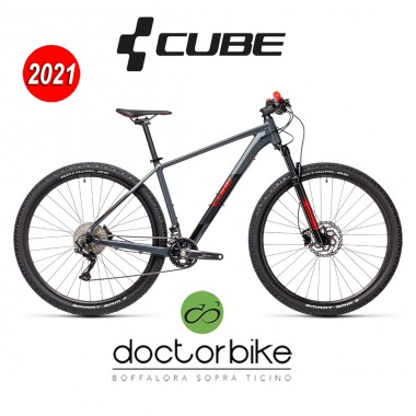 Cube Attention grey´n´red -403100 -