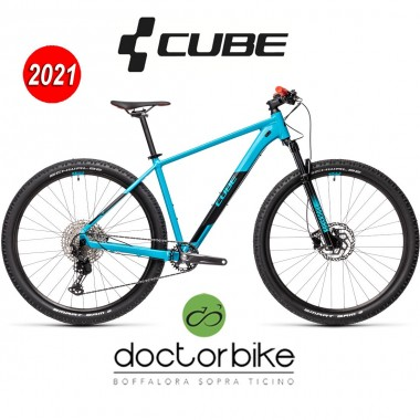 Cube Attention SL petrol´n´red - 403160 -