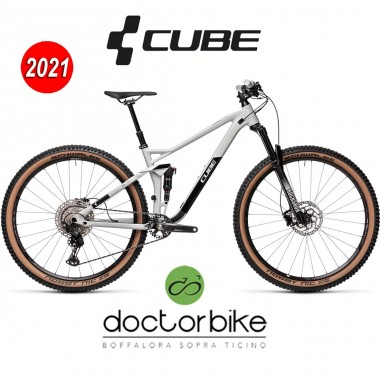 Cube Stereo 120 Race 29 lightgrey´n´black - 453200 -