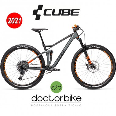 Cube Stereo 120 HPC TM 29 flashgrey´n´orange  - 453300 -