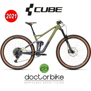 Cube Stereo 150 C:62 Race 29 olive´n´grey - 455100 -