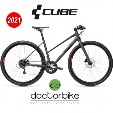 Cube SL Road iridium´n´black - 451100 - LADY TRAPEZE -
