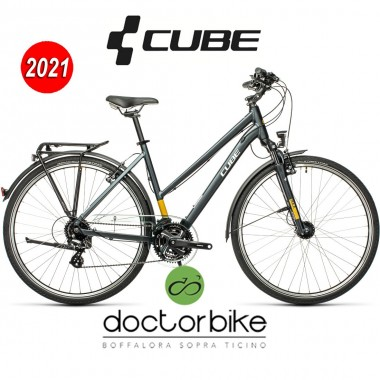 Cube Touring grey´n´yellow - 448100 - LADY-TRAPEZE