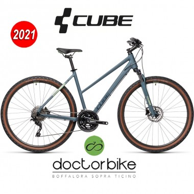 Cube Nature Pro blue´n´green- 445160 -LADY TRAPEZE
