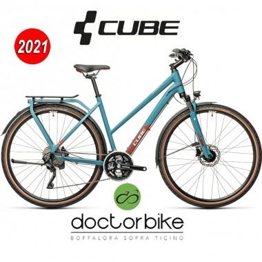 Cube Kathmandu Pro blue´n´red - 448310 - LADY TRAPEZE