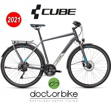 Cube Kathmandu EXC grey´n´blue - 448300 -MEN