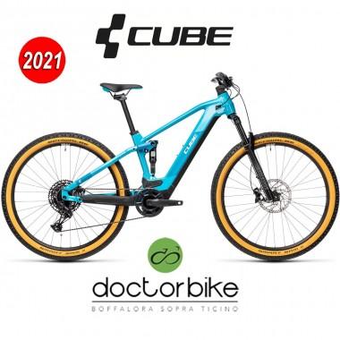 Cube Stereo Hybrid 120 Pro 625 petrol´n´blue - 435072 -