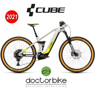 Cube Stereo Hybrid 140 HPC Race 625 grey´n´yellow - 436112 -