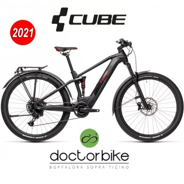 Cube Stereo Hybrid 120 Pro Allroad 625 black´n´red  - 435102 -