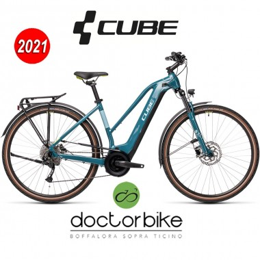 Cube Touring Hybrid ONE 500 blue´n´green - 431061 - TRAPEZE