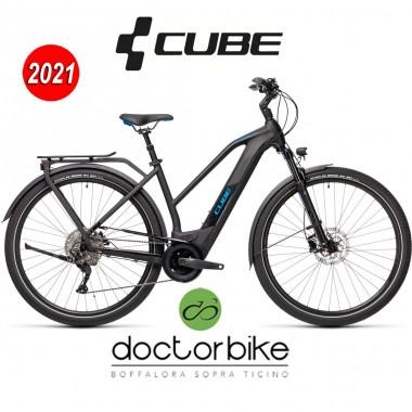 Cube Kathmandu Hybrid Pro 625 black´n´blue - 431202 -LADY TRAPEZE-