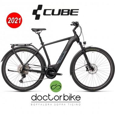 Cube Kathmandu Hybrid EXC 625 black´n´grey - 431252 -