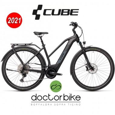 Cube Kathmandu Hybrid EXC 625 black´n´grey - 431252 - LADY TRAPEZE