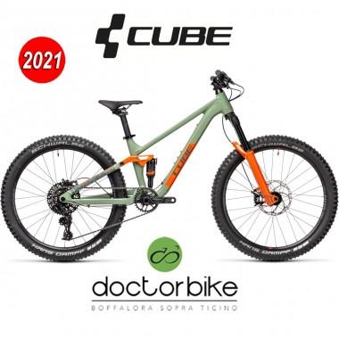 Cube Stereo 240 Pro olive´n´orange - 459050 -
