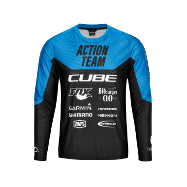 MAGLIA CUBE EDGE ROUND NECK UNISEX ACTIONTEAM L/S X