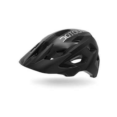 CASCO DOTOUT HAMMER MATT BLACK-SHINY BLACK