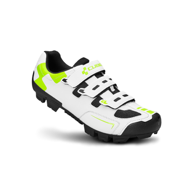 SCARPA MTB CUBE CMPT WHITE GREEN BLACK