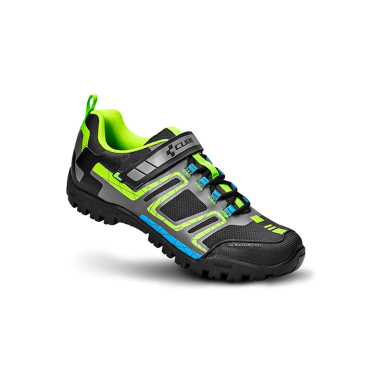 SCARPA MTB CUBE ALL MOUNTAIN BLACK GREEN BLUE