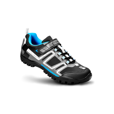 SCARPA MTB CUBE ALL MOUNTAIN BLACK WHITE BLUE GREY