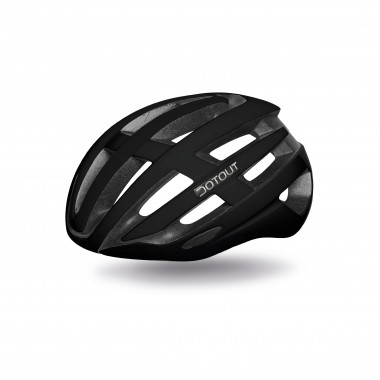 CASCO DOTOUT TARGA SHINY BLACK-MATT BLACK