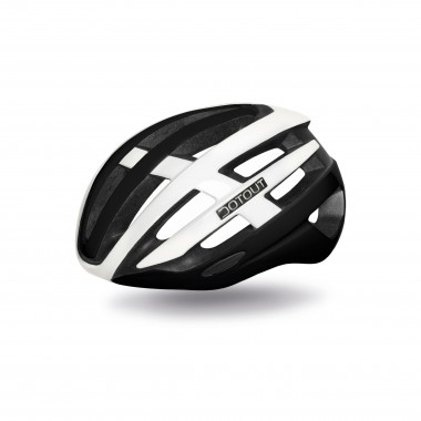CASCO DOTOUT TARGA MATT BLACK- SHINY WHITE